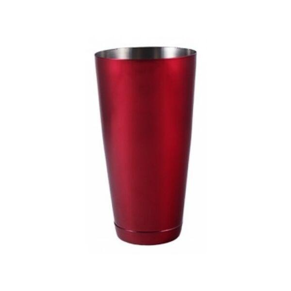 The Bars minőségi súlyozott boston koktél shaker piros