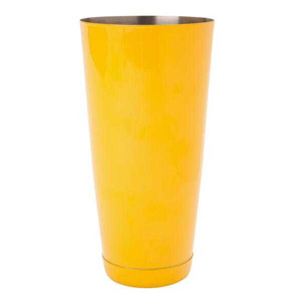 The Bars minőségi súlyozott boston koktél shaker sárga