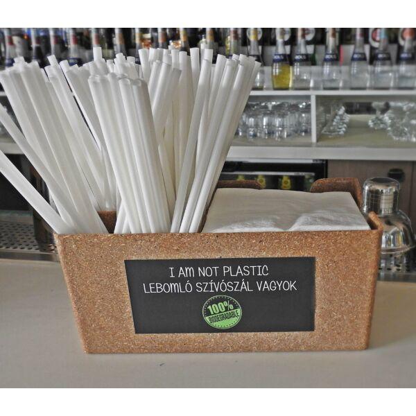 Bar Organizer csomag fekete szalvétával