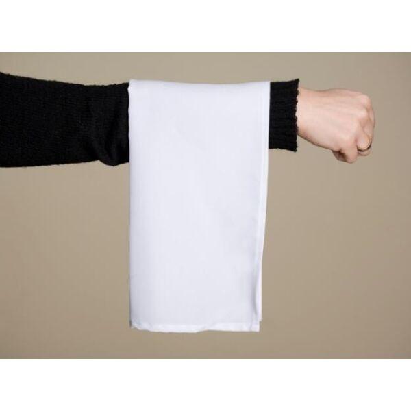 Hangedli fehér színű, pincéreknek 50x50 cm