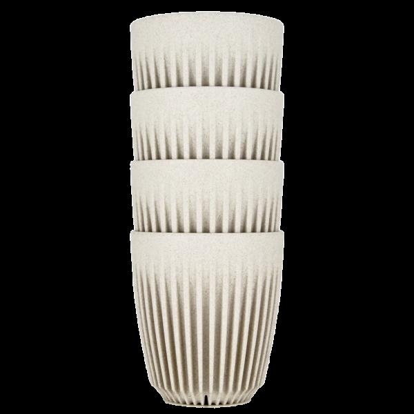HuskeeCup pohár kávés termosz NATURAL 230 ml