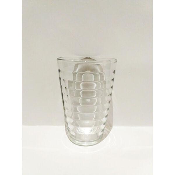 Üdítős pohár bordás 330ml