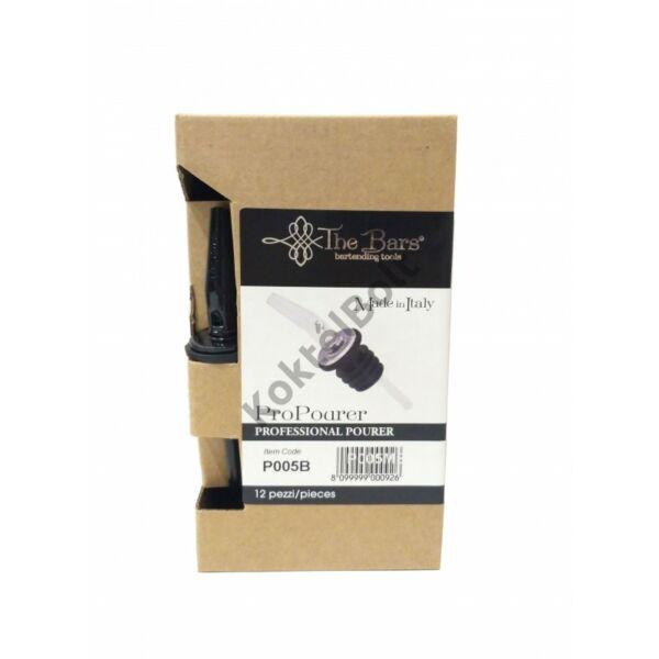 The Bars fekete pro pour kiöntő dugó műanyag lamellákkal 12db/doboz