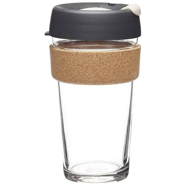 KeepCup caferange to go üveg/parafa pohár press 480 ml