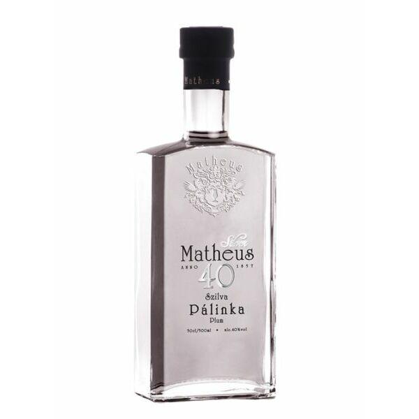 Matheus Silver szilva pálinka 0,5l 40%