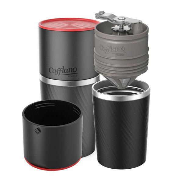Fekete Cafflano Klasszik kávékészítő eszköz