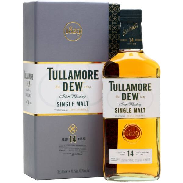Tullamore Dew 14 éves Single Malt 0,7L 41,3% dd.