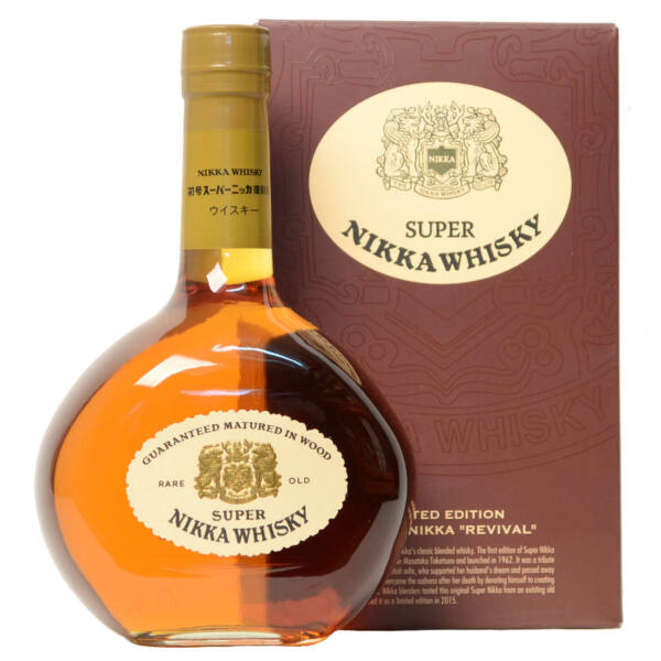 "Nikka Super Nikka ""Revival"" whisky 0,7L 43% pdd."