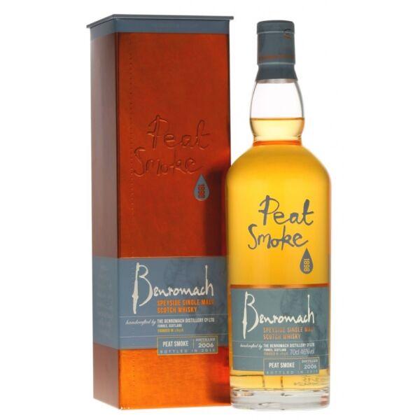 Benromach 2006 Peat Smoke whisky 0,7L 46% dd.