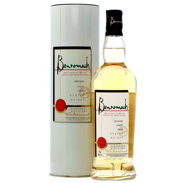 Benromach Traditional whisky 0,7L 40% fém dd.
