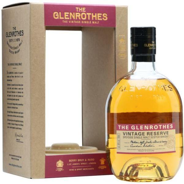 Glenrothes Vintage Reserve whisky 0,7L 40% pdd.