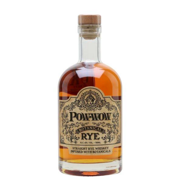 Pow-wow Botanical Rye whisky 0,7L 45%