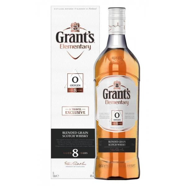 Grants Elementary 8 years whisky 1L 40% pdd.