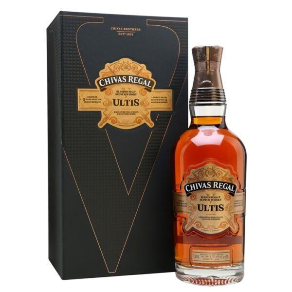 Chivas Regal Ultis whisky 0,7L 40% dd.