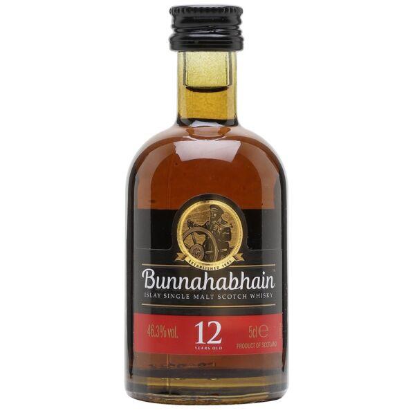 Bunnahabhain 12 years whisky mini 0,05L 46,3%