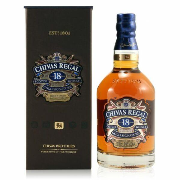 Chivas Regal 18 years whisky pdd. 0,2L 40%