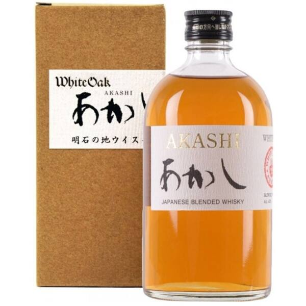 Akashi White Oak japán whisky 0,5L 40%