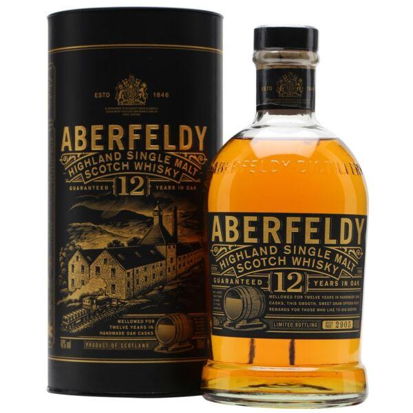 Aberfeldy 12 years whiksy dd.0,7L 40%