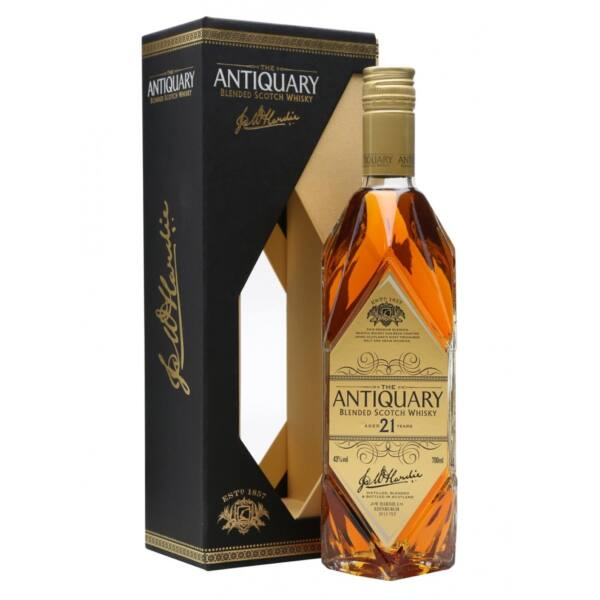 Antiquary 21 years whisky 0,7L 43%