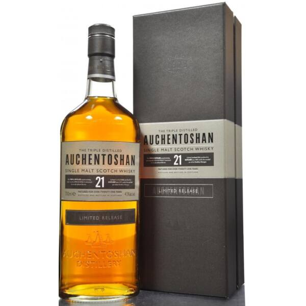 Auchentoshan Limited Release 21 years whisky dd. 0,7L 43%