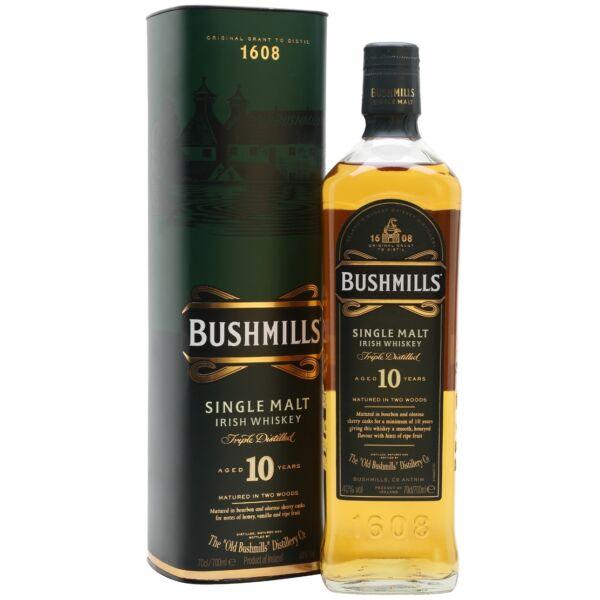 Bushmills 10 years whiskey 0,7L 40%