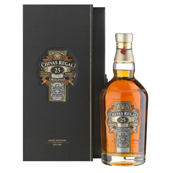 Chivas Regal 25 years whisky 0,7L 40%