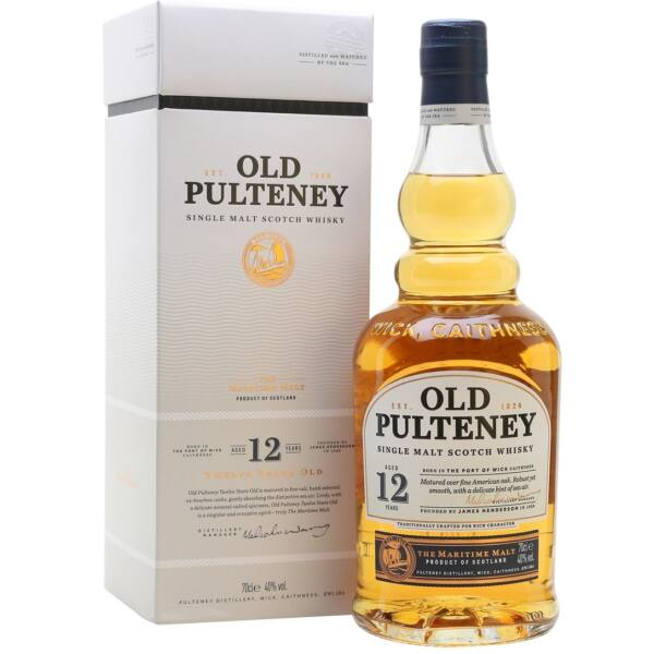 Old Pulteney 12 years whisky 0,7L 40%