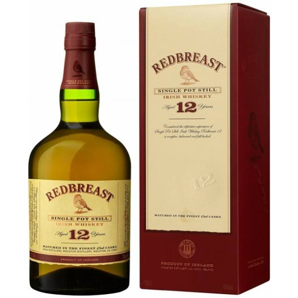 Redbreast 12 years whiskey pdd. 0,7L 40%