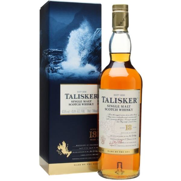 Talisker 18 years whisky pdd. 0,7L 45,8%