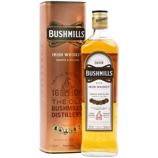 Bushmills The Original whiskey dd. 0,7L 40%