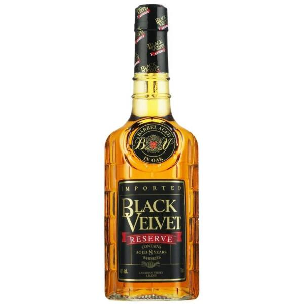 Black Velvet Reserve 8 years whisky 1L 40%