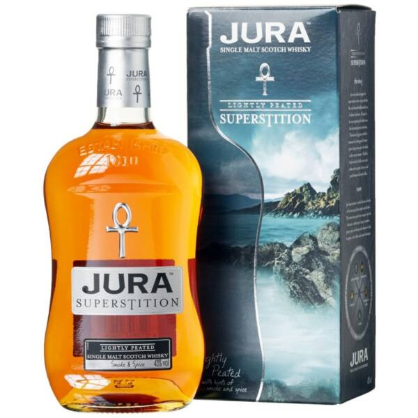Isle of Jura Superstition whisky 1L 43%