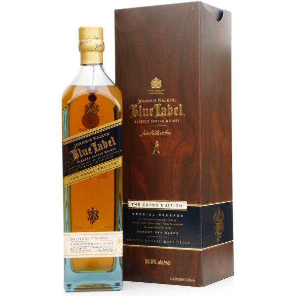 Johnnie Walker Blue Label Cask Edition whisky dd. 1L 55,8%