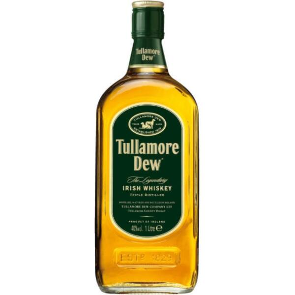 Tullamore Dew whiskey 1L 40%