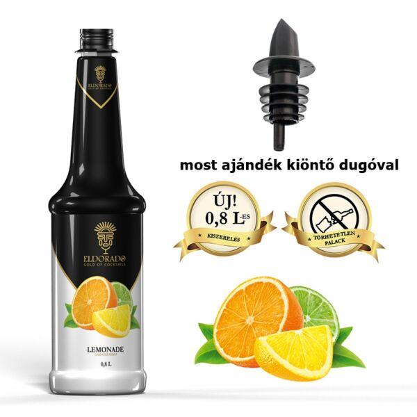 Gluténmentes Eldorado Limonádé szirup 0,8 L(most ajándék kiöntő dugóval)