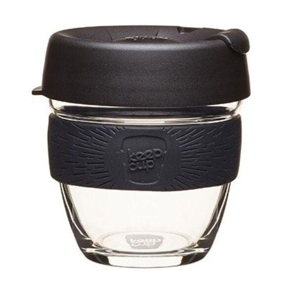 KeepCup Brew Café Black üveg pohár 240 ml