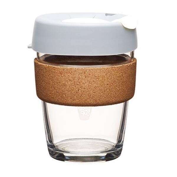 KeepCup brew to go grey üveg pohár 360 ml
