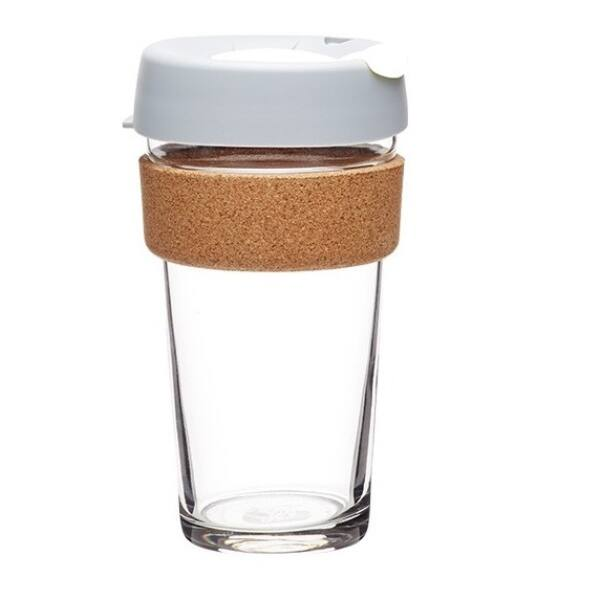 KeepCup brew to go grey üveg pohár 480 ml
