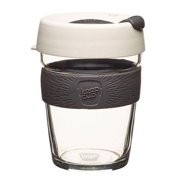 KeepCup Brew Café üveg pohár kávés termosz MILK 360 ml