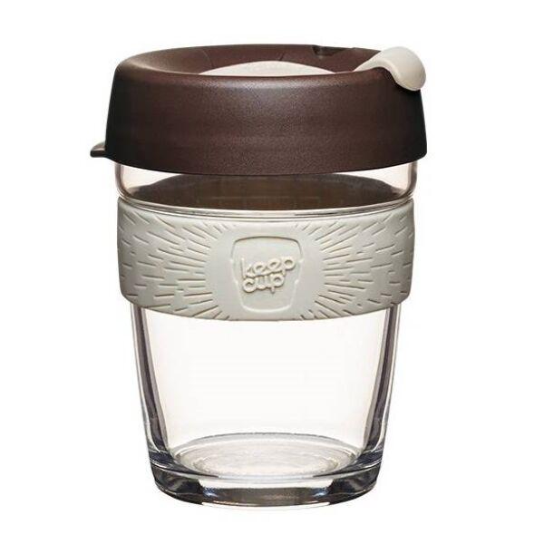KeepCup Brew Café Roast üveg pohár 360 ml