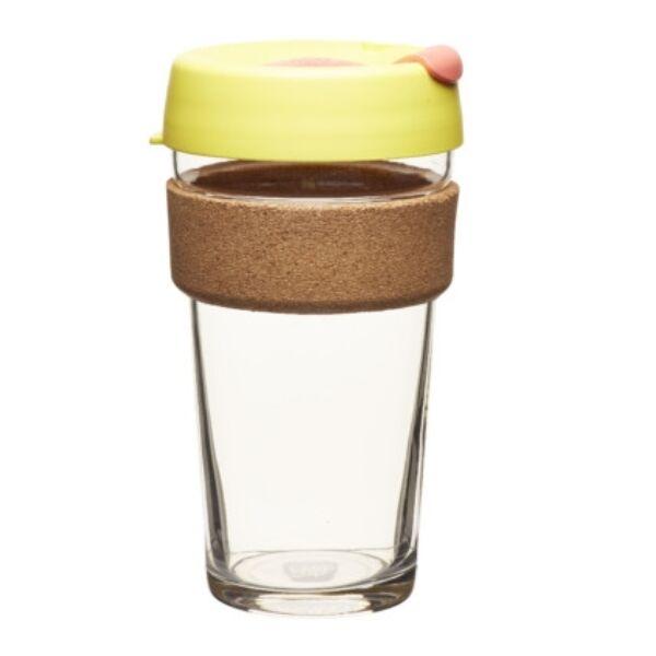 KeepCup brew to go Saffron parafa/üveg  pohár 480 ml
