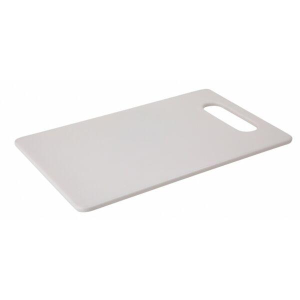 Fehér vágódeszka koktéldíszekhez 250x150 mm