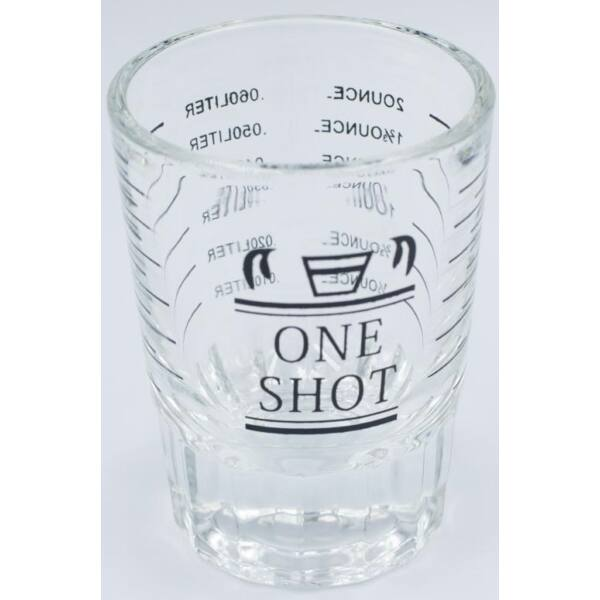 AVX mérő pohár 10/60 ml vastag talpú