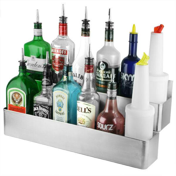 Dupla speed rack - italtartó bárpultba 2x6 üvegnek 56cm