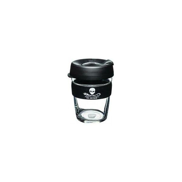 KeepCup Brew Café SEA SHEPHERD üveg pohár kávés termosz 360 ml