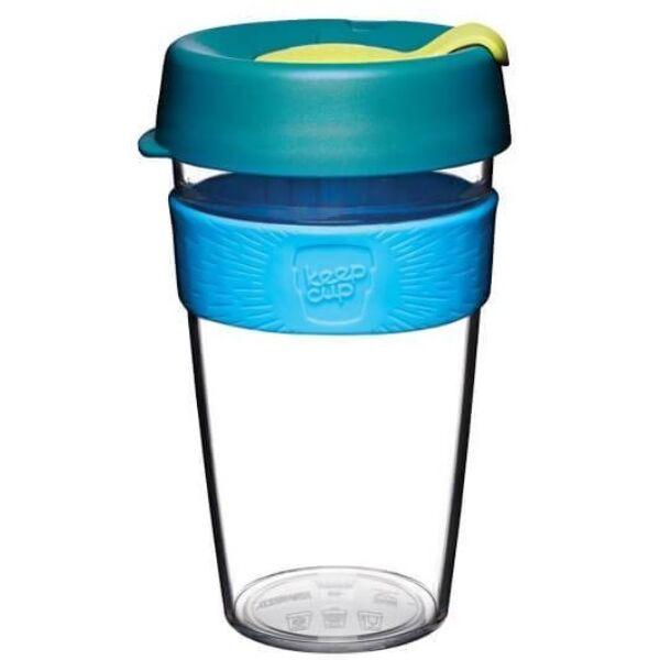 KeepCup clear plasztik to go pohár kávés termosz OZONE 480 ml