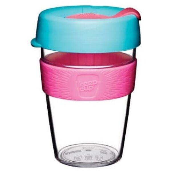 KeepCup clear plasztik to go pohár kávés termosz RADIANT 360 ml
