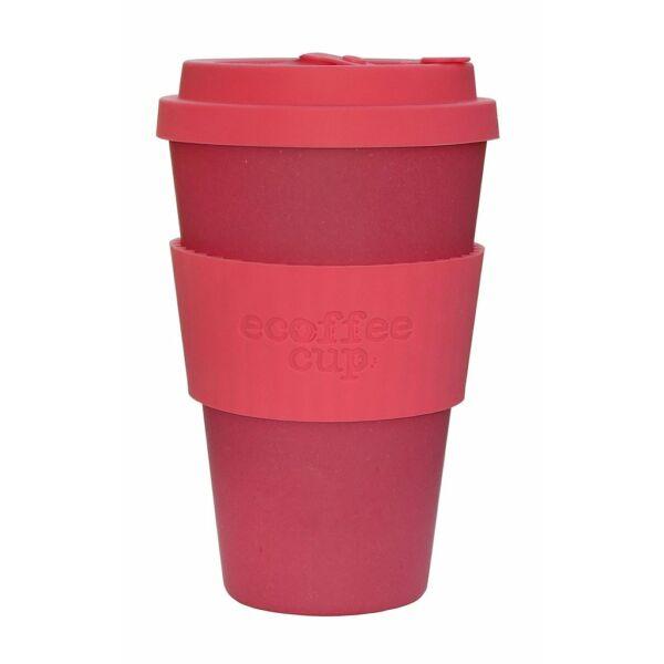 Ecoffee Cup hordozható kávéspohár - Pink 400 ml