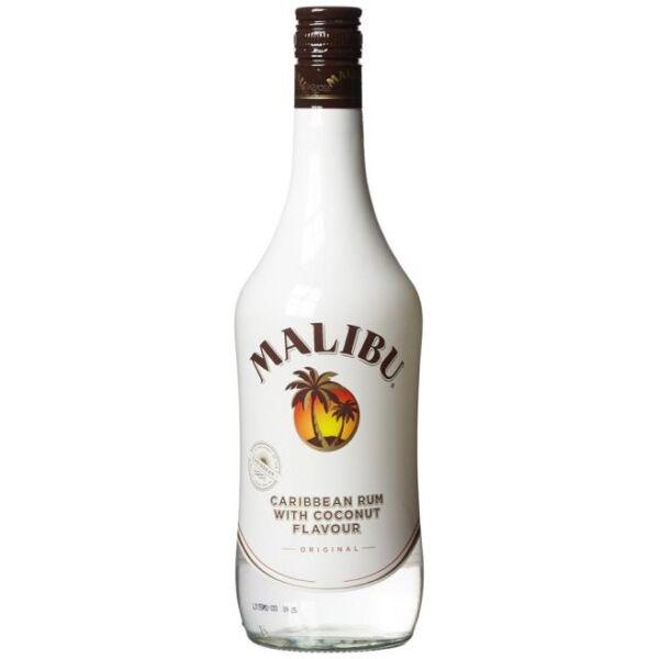 Malibu kókuszos ízesítésű rum 1L 21%