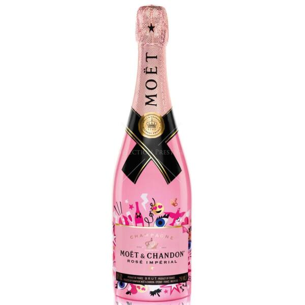 "Moet et Chandon Rose Imperial 0,75 12% Limited ""Love the Now"" Edition"